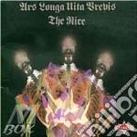 Ars longa vita brevis-digipack- cd musicale di Nice The