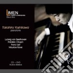 Beethoven, chopin, liszt, ravel (cd+dvd) cd musicale di Takahiro Yoshikawa