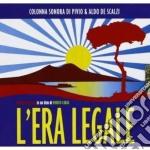 Pivio & Aldo De Scalzi - L'era Legale cd musicale di A Pivio & de scalzi