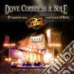 Dove comincia il sole live agosto 2011(2cd) cd musicale