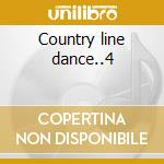 Country line dance..4 cd musicale