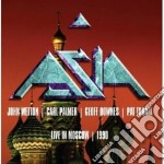 LIVE IN MOSCOW 1990 cd musicale di ASIA