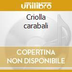 Criolla carabali cd musicale di Maestra Sierra