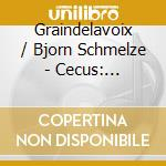 Cecus: colours, blindness cd musicale di Graindelavoix