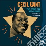 COMPLETE RECORDINGS VOL.3 1945-46 cd musicale di GIANT CECIL