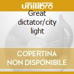 Great dictator/city light cd musicale