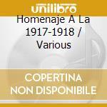 Homenaje A La 1917-1918 cd musicale di ORQ.FERRE/ORQ.FILIPO