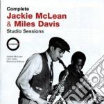 Jackie Mclean & Miles Davis - Studio Sessions cd musicale di MCLEAN/DAVIS