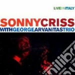 Sonny Criss & George Arvanitas Trio - Live In Italy cd musicale di CRISS/ARVANITAS