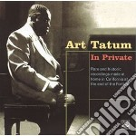 Art Tatum - In Private cd musicale di TATUM ART