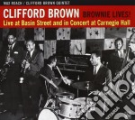 Clifford Brown - Live At Basin Street... cd musicale di BROWN CLIFFORD