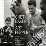 Chet Baker / Art Pepper - Compl.playboys Sess.1956 cd musicale di CHET BAKER & ART PEP