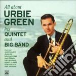 HIS QUINTET & BIG BAND cd musicale di GREEN URBIE