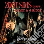 Zoot Sims - Plays Tenor & 4 Altos cd musicale di SIMS ZOOT