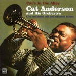 CAT'S IN THE ALLEY cd musicale di CAT ANDERSON & HIS ORCHESTRA