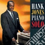 Hank Jones - Piano Solo cd musicale di Jones Hank