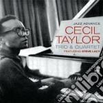 Cecil Taylor Trio & Quartet - Jazz Advance cd musicale di Cecil taylor trio &