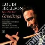 GREETINGS cd musicale di BELLSON LOUIS QUINTE