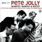 Pete Jolly - Quartet/quintet/sextet cd musicale di JOLLY PETE