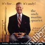 Andy Martin Quartet - Memory Of Frank Rosolino cd musicale di MARTIN ANDY QUARTET