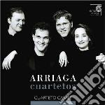 QUARTETTI PER ARCHI (NN.1-3) cd musicale di ARRIAGA JUAN CRISOST