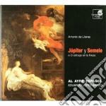 JUPITER Y SEMELE (ZARZUELA BAROCCA) cd musicale di LITERES ANTONIO DE
