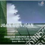Guinjoan Joan - Concerto Per Clarinetto, Concerto Per Pianoforte N.1, Concerto Per Violoncello cd musicale di Joan Guinjoan