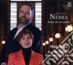 Jose' De Nebra - Arias De Zarzuelas cd musicale di De nebra josÉ