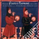 Eduardo Paniagua - Cantigas De Flauta Y Tamboril cd musicale di Eduardo Paniagua