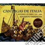 Eduardo Paniagua - Cantigas De Italia cd musicale di Eduardo Paniagua