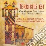 Schola Antiqua - Terribilis Est cd musicale di Antiqua Schola