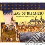 Cantigas de bizancio cd musicale di Eduardo Paniagua