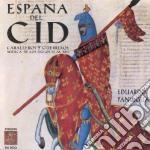 Espana del cid cd musicale di Eduardo Paniagua