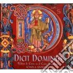Schola Antiqua - Dicit Dominus cd musicale di Antiqua Schola