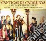 Eduardo Paniagua - Cantigas De Catalunya cd musicale di Eduardo Paniagua
