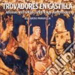 Eduardo Paniagua - Trovadores En Castilla cd musicale di Artisti Vari