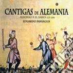 Eduardo Paniagua - Cantigas De Alemania cd musicale di Eduardo Paniagua