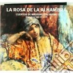 La rosa de la alhambra cd musicale di Eduardo Paniagua
