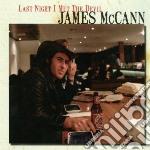 (LP VINILE) LAST NIGHT I MET THE DEVIL lp vinile di James Mc cann