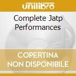 COMPLETE JATP PERFORMANCES cd musicale di PARKER/YOUNG