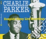 COMPL.SAVOY LIVE RECORDIN cd musicale di Charlie Parker