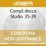 COMPL.DECCA STUDIO 35-39 cd musicale di LOUIS ARMSTRONG (4 C