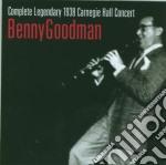 COMPLETE LEGENDARY 1938 CARNEGIE H. cd musicale di Benny Goodman