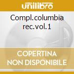 Compl.columbia rec.vol.1 cd musicale di Mildred bailey (4 cd