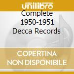 COMPLETE 1950-1951 DECCA RECORDS cd musicale di ARMSTRONG LOUIS