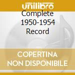 COMPLETE 1950-1954 RECORD cd musicale di WALKER T-BONE