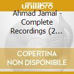 COMPLETE RECORDINGS cd musicale di Ahmad Jamal