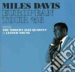 EUROPEAN TOUR '56 cd musicale di Miles Davis