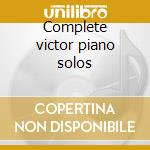 Complete victor piano solos cd musicale di Fats Waller