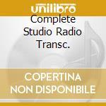 COMPLETE STUDIO RADIO TRANSC. cd musicale di JAMES / SINATRA